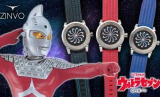 『ウルトラセブン』のアイスラッガーがモチーフの自動巻き腕時計が発売。アイスラッガーがダイヤル上を回転!