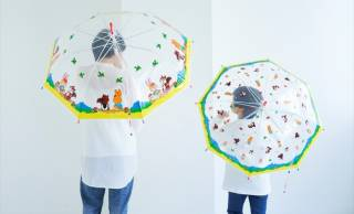 レトロなキャラデザインがとてもキュート!ラムネ菓子『クッピーラムネ』が傘になりました