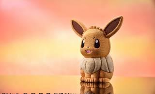 愛らしさはそのままに♡人気ポケモン「イーブイ」が伝統の江戸木目込人形になって登場
