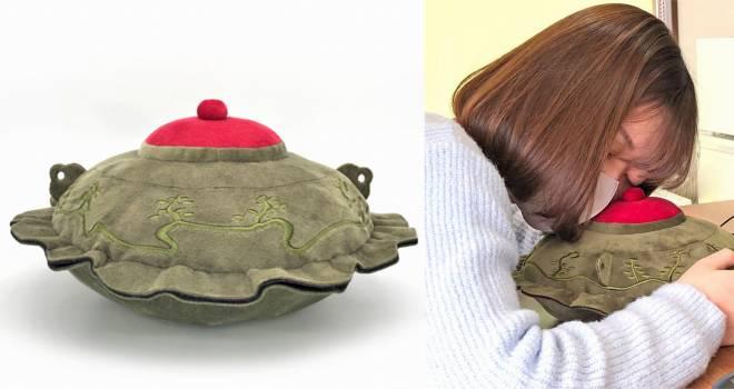 戦国時代の伝説の茶釜を忠実にモフモフ化「平蜘蛛ぬいぐるみ」が500個限定で再販決定!