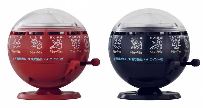 懐かしすぎるわ!昭和時代にお店でよく見たあの「ルーレット式おみくじ器」がミニチュア化され発売