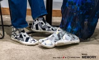 日本の履物文化とパリのデザインが融合した足袋スニーカーが新発売