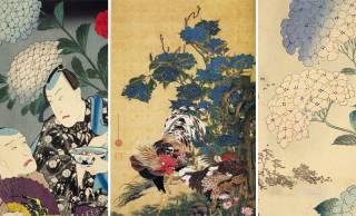 若冲、国貞、広重…今が旬の「紫陽花」を描いた日本画・浮世絵作品を紹介