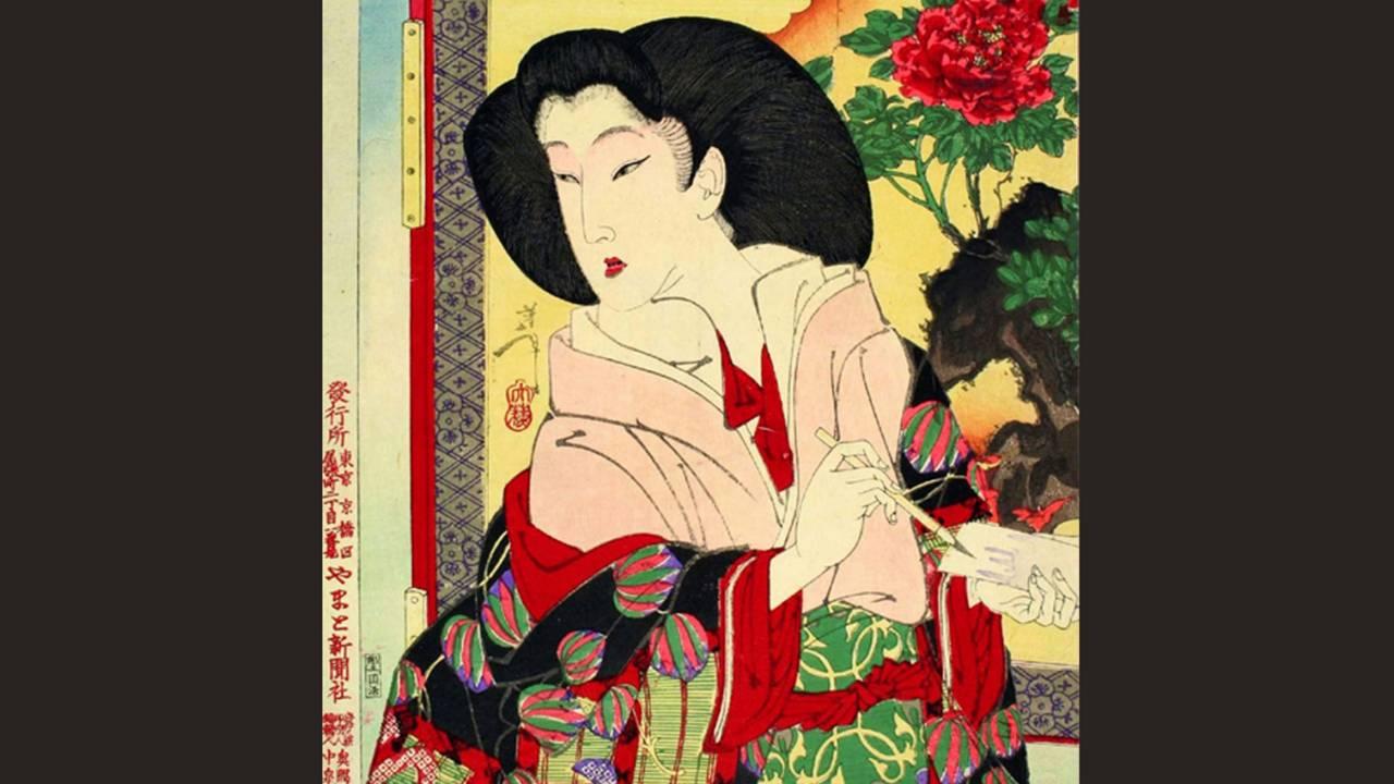 なんと美しい!新聞の付録として絵師・月岡芳年が描いた徳川慶喜の正室・美賀君の浮世絵を解説