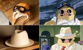 ジブリ映画『紅の豚』の主人公 ポルコ・ロッソがかぶっていたあのキャップ&ハットが発売!