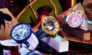北斎、写楽など日本文化をモチーフにした腕時計「JAPAN ICON」コレクションが「Tendence」から登場