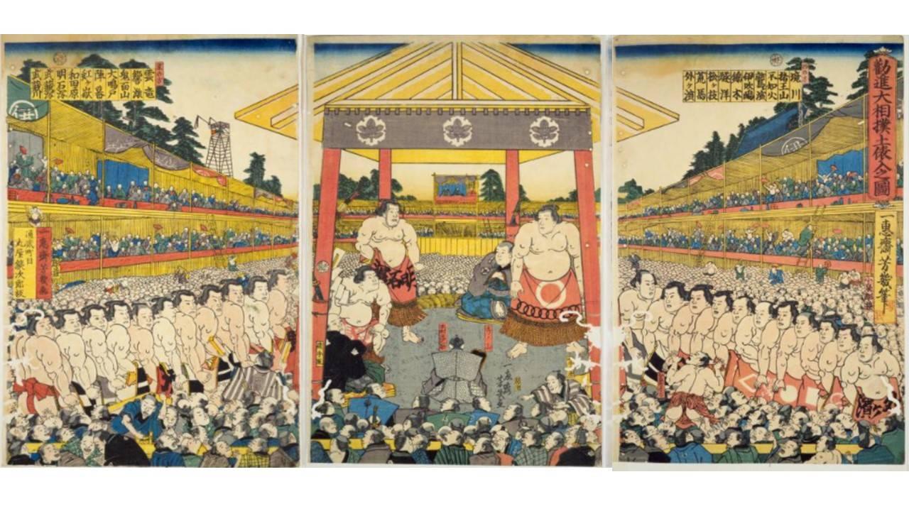 庶民も将軍も熱狂!江戸時代の相撲で名勝負を繰り広げたスター力士、谷風と小野川