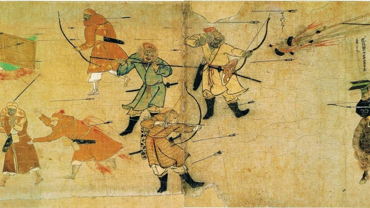 敵の首を2つ刀に刺して…鎌倉時代中期、蒙古襲来の際に活躍した武将・菊池武房