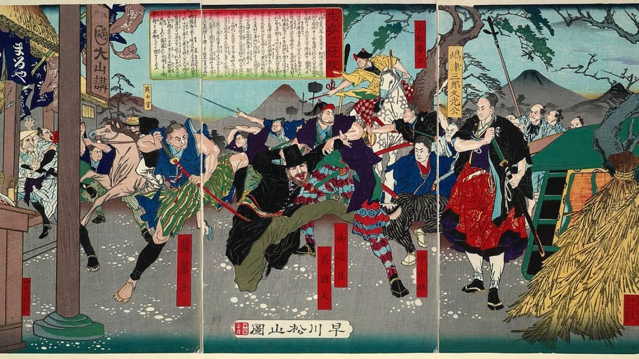 開港から明治維新まで相次ぎ発生していた攘夷派による横浜での外国人殺傷事件簿
