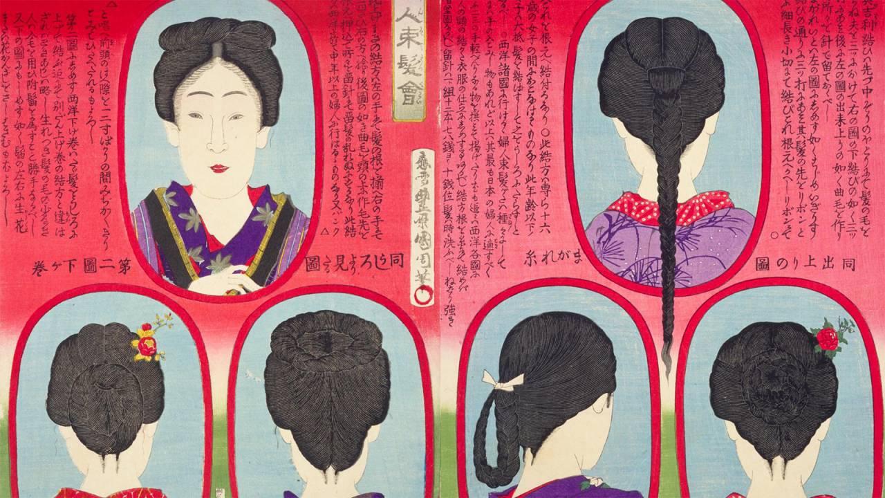西洋上げ巻、ザンギリ頭…文明開化の明治時代、男女の髪型はどのように変化したのか