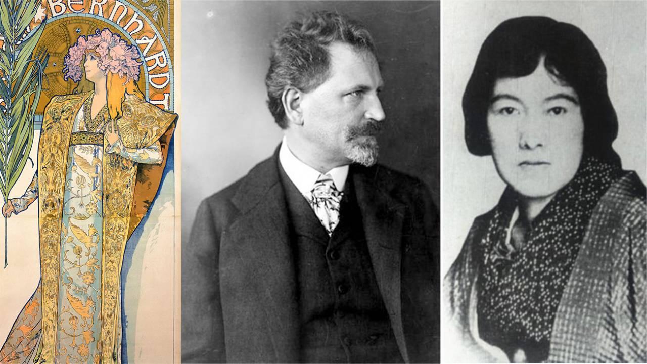 情熱の歌人・与謝野晶子とアール・ヌーヴォーの画家・ミュシャの意外なつながり