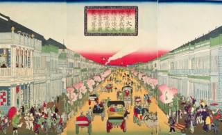 東京 銀座や丸の内、日本橋…浮世絵で見て歩く華やかな明治時代の洋風建築【後編】