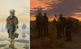 明治の日本を描いた絵画200点以上を紹介する企画展「発見された日本の風景 美しかりし明治への旅」