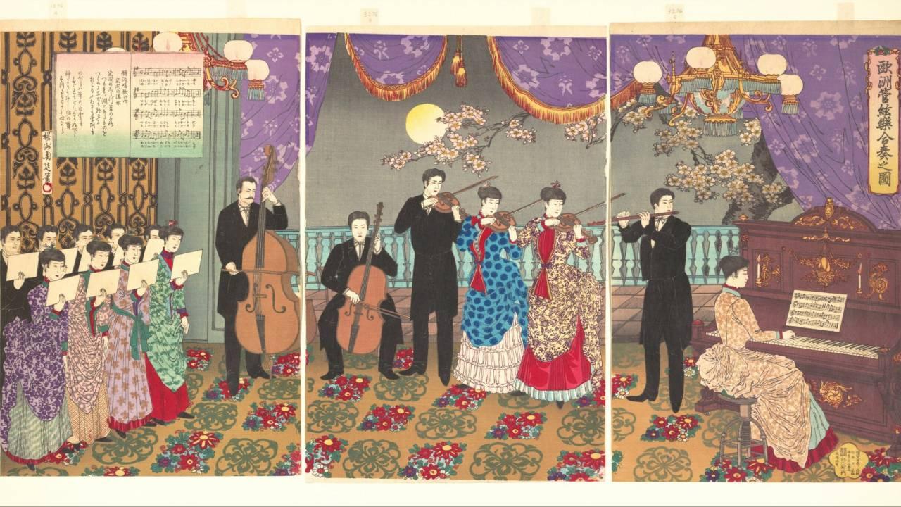 【錦絵で見る明治維新】文明開化の明治時代、錦絵はジャーナリズムの役割も担っていた