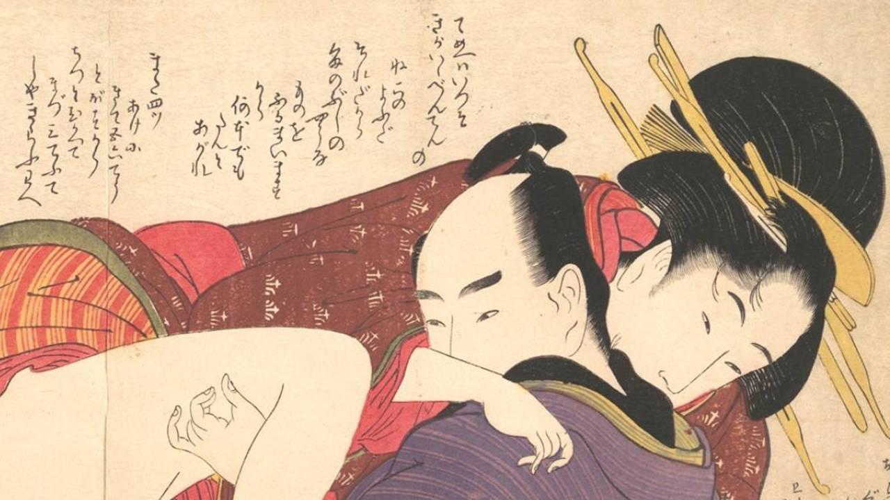 風俗文化の象徴。性愛・性交を描いた絵画「春画」の歴史と移ろい【前編】