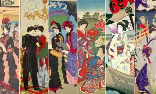 モダンな洋装vsハイカラ和装!錦絵で見る明治時代のファッション改革