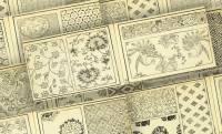 これは参考になる!膨大な数の古代文様をまとめた明治時代の図案集『古代模様集』は必見