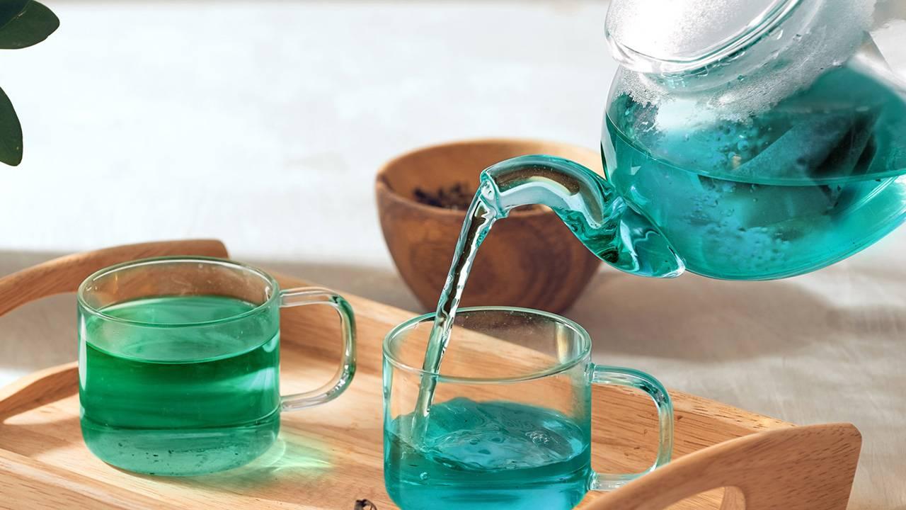 滋賀県の近江茶を使用した青きお茶「青和茶」が美しい!
