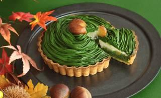 おいしそっ♡抹茶好きさんの秋のご褒美スイーツに「熟成宇治抹茶モンブランケーキ」はいかが?
