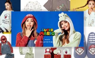 「ジェラピケ」からスーパーマリオコレクションが登場!マリオやヨッシーがルームウェアに☆