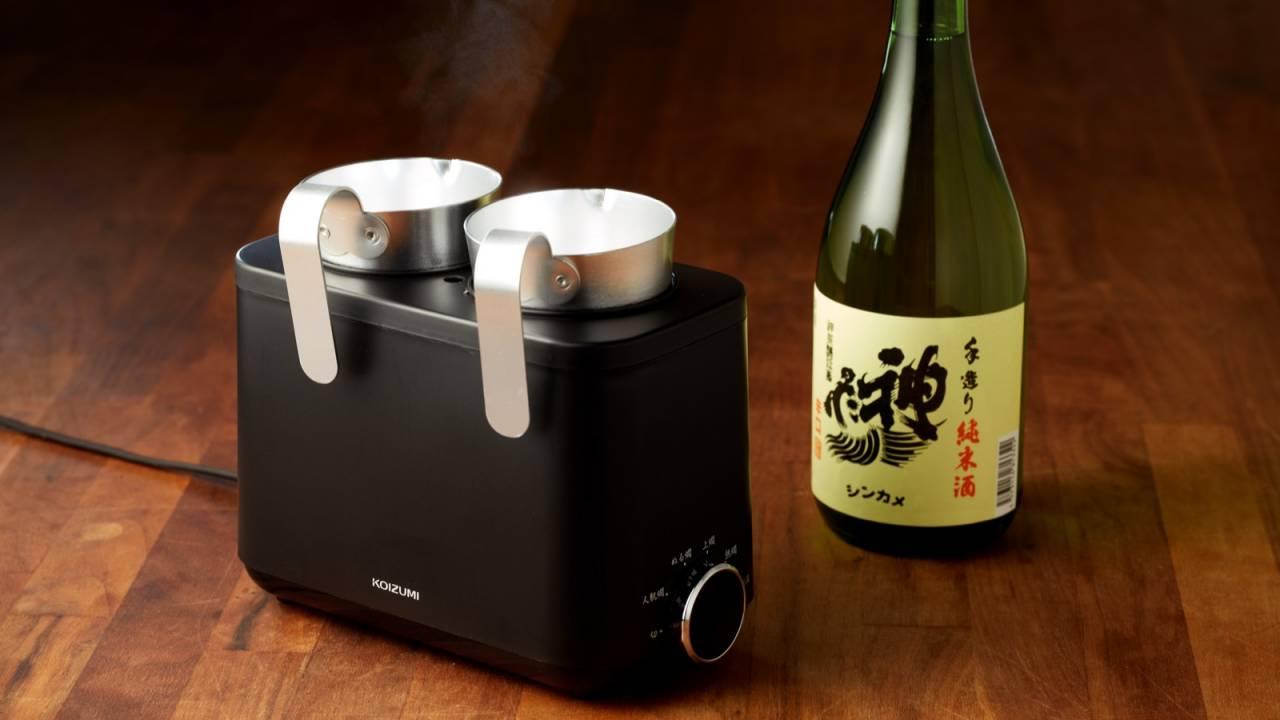 家で簡単にプロの燗♪日本酒「神亀」の蔵元・神亀酒造が監修に携わった酒燗器『かんまかせ』