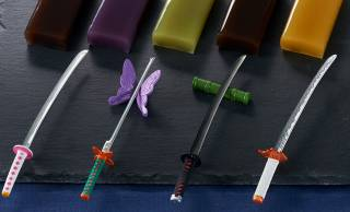 アニメ「鬼滅の刃」の日輪刀がモチーフの菓子切と羊羹セット第弐弾が登場