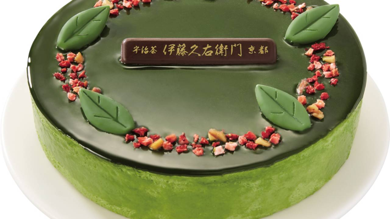 京都・伊藤久右衛門 監修のクリスマスケーキ『宇治抹茶ドゥーブルショコラ』がセブンイレブンで予約受付中