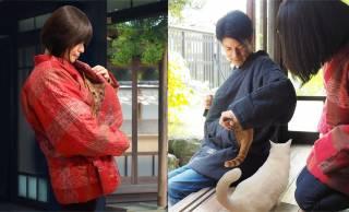 懐には猫ポケットが!愛猫とずっと一緒にぬくぬくできる、猫好き用『ねん猫はんてん』発売